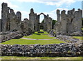 TF8114 : The ruins of Castle Acre Priory by Mat Fascione