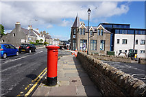 HU4741 : Post box on Market Street, Lerwick by Ian S