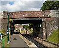 TQ5337 : Station Road Bridge, Groombridge by Paul Gillett