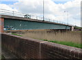 ST3038 : Road bridge over the River Parrett, Bridgwater by Jaggery
