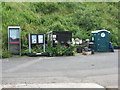 NT9560 : Facilities at Lower Burnmouth harbour by M J Richardson