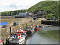 NT9560 : Burnmouth Harbour by M J Richardson