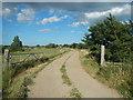 TM1315 : Track to St Osyth Lodge Farm by Paul Franks