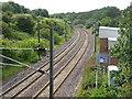 NT9561 : The East Coast Main Line by M J Richardson