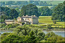X0992 : Camphire House from across the Blackwater by Mike Searle