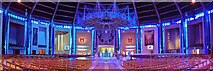 SJ3590 : Liverpool RC Cathedral, Internal View by Len Williams