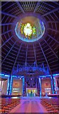 SJ3590 : Liverpool Metropolitan Cathedral, Roof by Len Williams