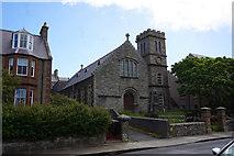 HU4741 : Former Church on St Olaf Street, Lerwick. by Ian S
