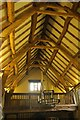 SP1772 : Roof of the Great Hall, Packwood House by Derek Harper