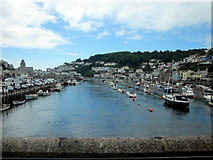 SX2553 : East & West Looe From The Bridge by Roy Hughes