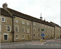 ST8893 : Buildings on Hampton Street, Tetbury by Alan Murray-Rust