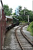 SD8010 : Witherslack Hall approaches Bury Bolton Street Station by Richard Hoare