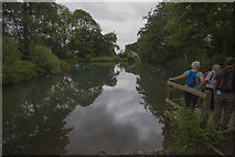 SK3160 : Middle Pond Lumsdale by Malcolm Neal