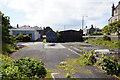 HU4741 : Waste land off Union Street, Lerwick by Ian S