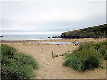 SW6619 : Poldhu Cove Beach by Roy Hughes