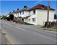 ST3090 : Pillmawr Road houses, Malpas, Newport by Jaggery