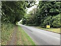 SJ8054 : Audley Road entering Alsager by Jonathan Hutchins