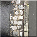ST5773 : Setts forming a channel, Gordon Road, Clifton, Bristol by Robin Stott