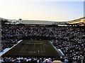 TQ2472 : Play on court 1 at Wimbledon by Paul Gillett