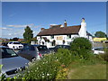 SJ4304 : The Red Lion Inn at Longden Common, Shropshire by Jeremy Bolwell