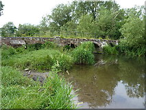 SP2180 : Hampton in Arden Packhorse Bridge by Richard Law