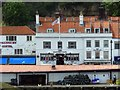 NZ8911 : The Magpie Cafe behind the Fish Market by Steve Daniels