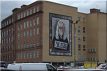 NS5964 : Billy Connolly mural, Osborne Street, Glasgow by Mike Pennington