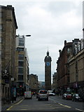 NS5964 : Tolbooth Cross, High Street, Glasgow by Mike Pennington