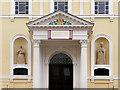 TA0929 : Church St Charles Borromeo, Doorway by David Dixon