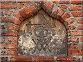 TA0928 : Hull Grammar School Datestone and Merchants' Marks by David Dixon