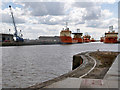 TA0927 : Port of Hull, Albert Dock by David Dixon