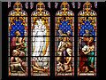 SE7428 : Howden Minster Great West Window (1) by David Dixon