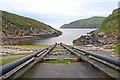 HP6114 : Lifeboat Slipway, Balta Sound by Des Blenkinsopp