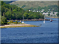 NN0974 : Camusnagaul, Loch Linnhe by David Dixon