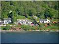 NN0872 : Lochside Houses South of Fort William by David Dixon