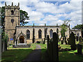 SK1582 : St Edmund's Church, Castleton by Stephen Burton