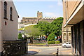 SH5772 : Bangor University seen from Waterloo Street by Jeff Buck
