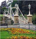 SO5139 : Victoria Bridge, Hereford by Stephen Richards