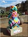 SP0686 : 'Art+Believe = Sunrise City' Bear by John M