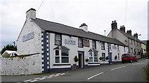 SH3568 : Y Goron pub, Aberffraw by Gordon Hatton