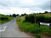 H4269 : Fireagh Road, Loughmuck Alcorn / Loughmuck Wallace by Kenneth  Allen
