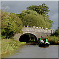 SJ3731 : Broom Bridge east of Lower Frankton in Shropshire by Roger  Kidd