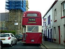 H4472 : Allen's Tours bus, Church Street, Omagh by Kenneth  Allen