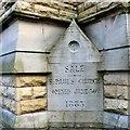 SJ7891 : St Paul's 1883 by Gerald England