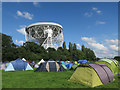 SJ7971 : Staff camping field for the Bluedot Festival by Hugh Venables