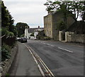 SY3392 : Steep descent towards the centre of Lyme Regis by Jaggery