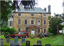 SO5928 : Former vicarage, Foy by Stephen Richards