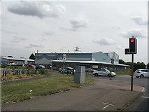 TL2373 : Industrial Estate, Huntingdon by M J Richardson