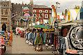TG2208 : Norwich Market by Richard Croft