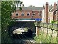 SK3447 : King Street railway bridge, Belper by Alan Murray-Rust